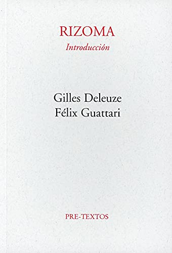 9788485081028: Rizoma -Introduccion (Spanish Edition)