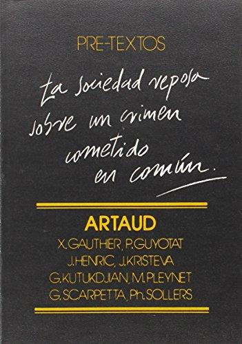 ARTAUD. 1ª edición. Dirección. Prólogo del director: SOLLERS, Philippe -