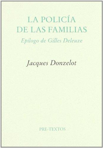9788485081257: La Policia de Las Familias (Spanish Edition)