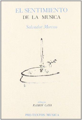 9788485081745: El sentimiento de la música (Spanish Edition)