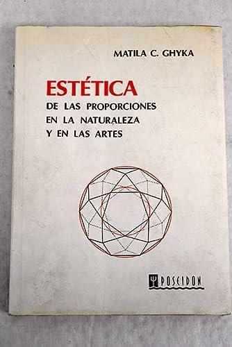 9788485083060: Estetica de Las Proporciones En La Naturaleza y Las Artes (Spanish Edition)