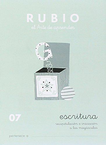 9788485109203: Rubio 07 - Caligrafía Escolar Rubio