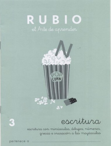 9788485109265: Escritura Rubio, n. 3