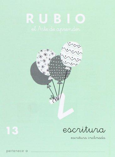 9788485109364: Cuadernos Rubio: Escritura 13 (Spanish Edition)