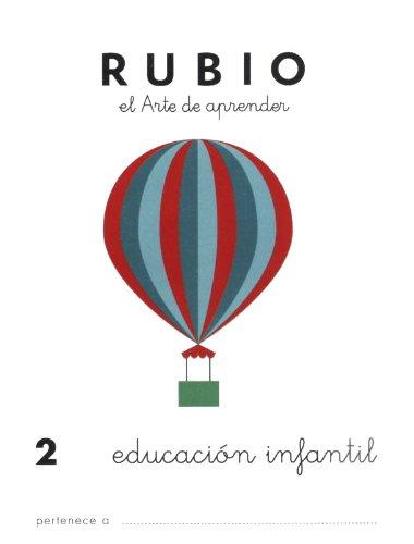 9788485109418: Cuadernos Rubio: Educacion Infantil 2 (Spanish Edition)