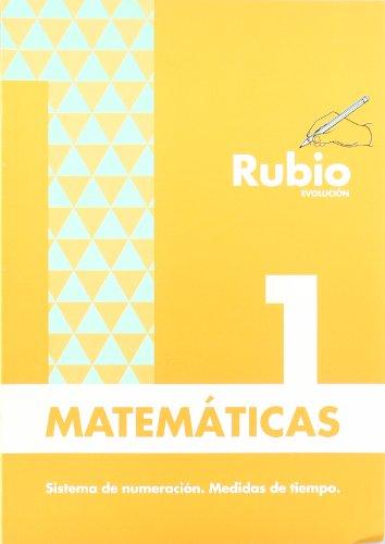 9788485109807: Problemas rubio evolución, nº 1 (Matemáticas Evolución RUBIO)