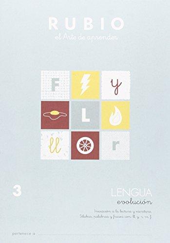 9788485109906: Cuadernos Rubio: Lengua 3
