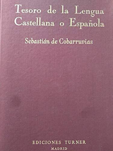 9788485137411: Tesoro de la lengua castellana o española (Spanish Edition)