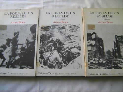 9788485137633: La forja de un rebelde (v. 1-2: La Novela social espanola)