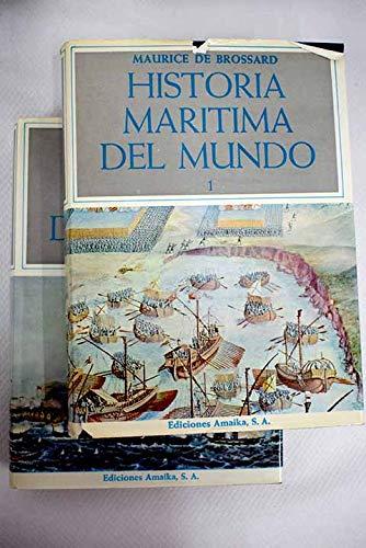 9788485163274: HISTORIA MARITIMA DEL MUNDO (2 Tomos )
