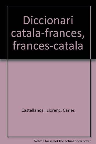 9788485194094: Diccionari català-francès, francès-català (Catalan Edition)