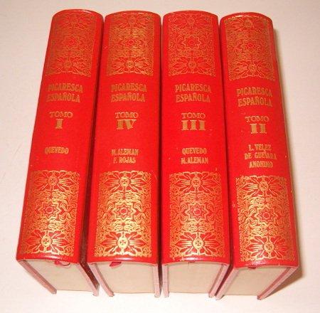 9788485196241: Colección de la Picaresca Española. IV Tomos