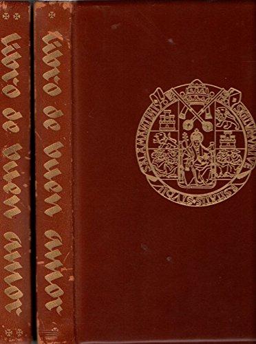 9788485197002: Libro de buen amor, 2 tomost.1:edicion facsimil codice salamant.2:est. hº-crit. y transc. textual (Serie A. Códices literarios. Edición facsímil)