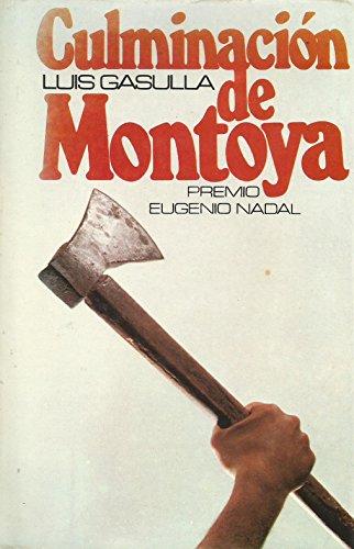 9788485224029: Culminacion De Montoya