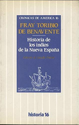 9788485229758: Historia de los indios de la nuevaespaña (Crónicas de América)