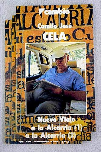 9788485229871: NUEVO VIAJE A LA ALCARRIA. 3 vols.