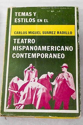 Temas y estilos en el teatro hispanoamericano contemporaneo: Una experiencia radiofonica de ...