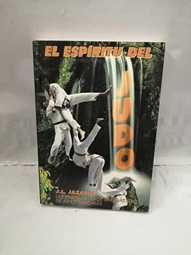 9788485269839: Espiritu del judo, el