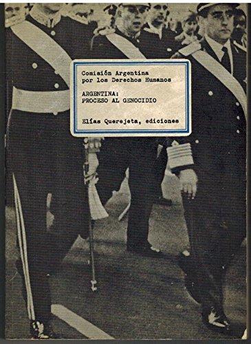9788485279081: Argentina, proceso al genocidio (Spanish Edition)