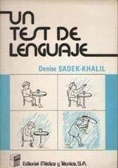 9788485298693: Un test de lenguaje