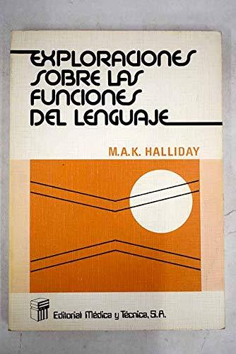 9788485298761: Exploraciones sobre las funciones del lenguaje