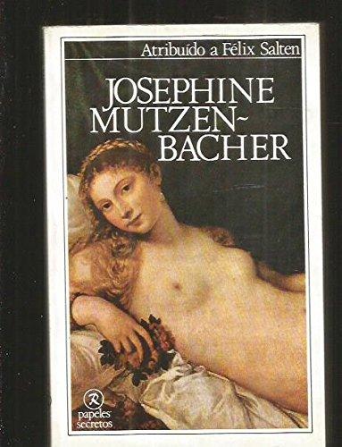 9788485322077: Josephine Mutzen- Bacher