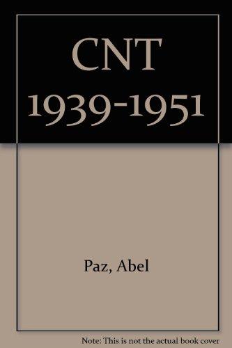 9788485348459: CNT 1939-1951