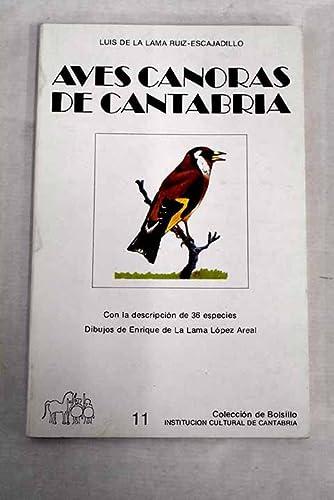 Aves cantoras de Cantabria: Luis de la