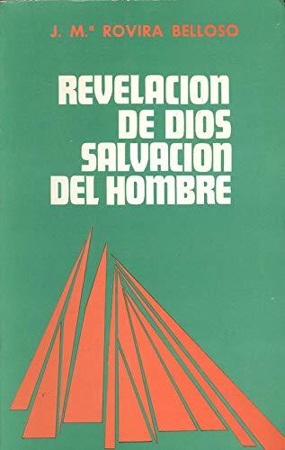 9788485376223: REVELACION DE DIOS, SALVACION DEL HOMBRE