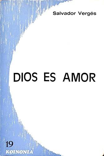 9788485376360: Dios es amor (Koinonía)