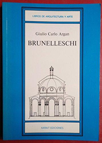 9788485434398: Brunelleschi