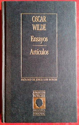 Ensayos y diálogos.: Wilde, Oscar.