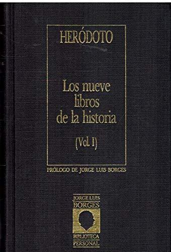 9788485471867: Los nueve libros de la historia (I)