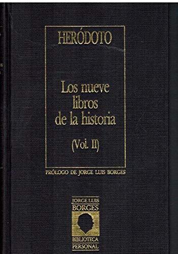 9788485471874: Los nueve libros de la historia (II)