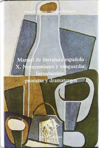 9788485511198: Novecentismo y vanguardia : introducción, prosistas y dramaturgos