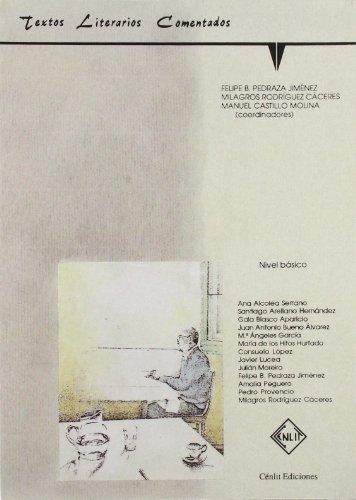9788485511211: Textos Literarios Comentados (basico) -Gida-