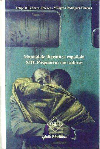 9788485511600: Manual de literatura española. Tomo XIII. Posguerra
