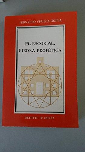 9788485559459: El Escorial, piedra profética