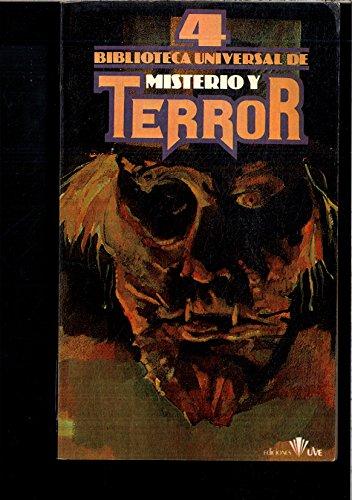 BIBLIOTECA UNIVERSAL DE MISTERIO Y TERROR: José Antonio Valverde.