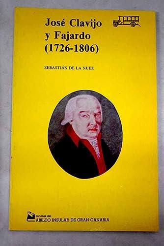 """9788485628780: José Clavijo y Fajardo, 1726-1806 (Colección """"Guagua"""") (Spanish Edition)"""