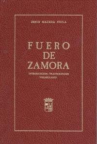 9788485664115: Fuero de Zamora (Spanish Edition)
