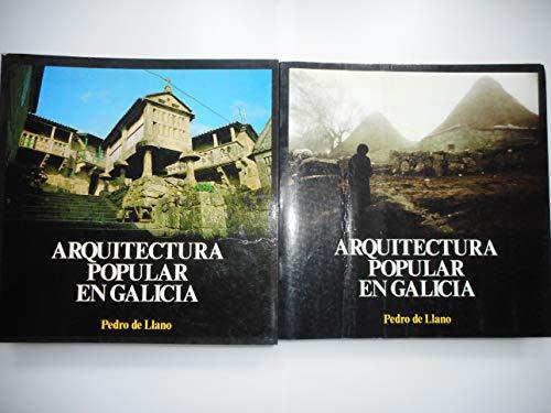 9788485665068: Arquitectura popular en Galicia (Publicacions do Colexio Oficial de Arquitectos de Galicia) (Spanish Edition)