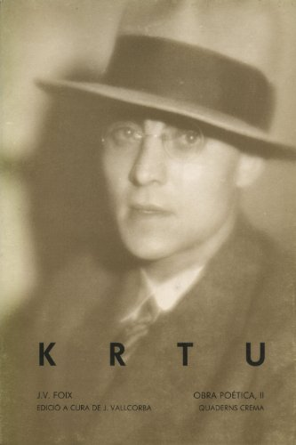 9788485704453: KRTU (Obra Poètica de J.V.Foix)