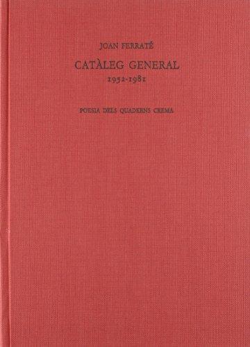 9788485704989: Catàleg general 1952-1981 (Poesia dels Quaderns Crema)