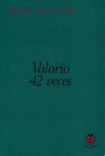 9788485708260: VALORIO 42 VECES
