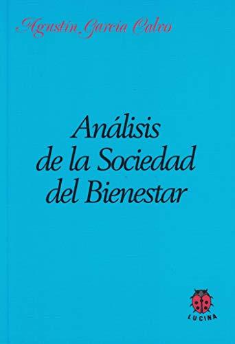 9788485708420: Analisis De La Sociedad Del Bienestar