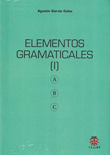 9788485708802: Elementos gramaticales