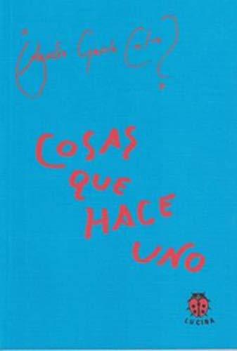 COSAS QUE HACE UNO: Agustin Garcia Calvo
