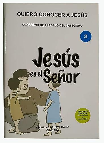 9788485764587: Quiero Seguir A Jesús. Educación Primaria 3. Guía Cuaderno