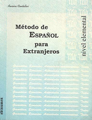 9788485789887: Metodo de Espanol para Extranjeros